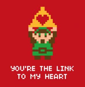 Legend Of Zelda Valentineu0027s Day Card
