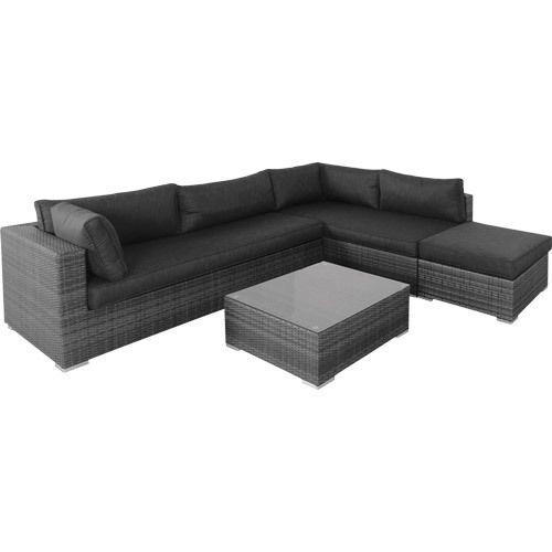 4 Piece Corner Lounge Setting