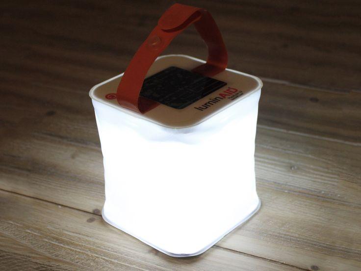LuminAID Oppblåsbar Solcellelampe
