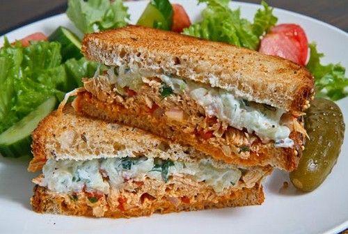 Chicken Salad Sandwich Easy Recipe in Urdu.