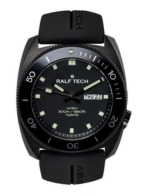 """RALF TECH, Horloger Atypique et Indépendant ! - La Collection - WRV """"A"""" Hybrid Black"""