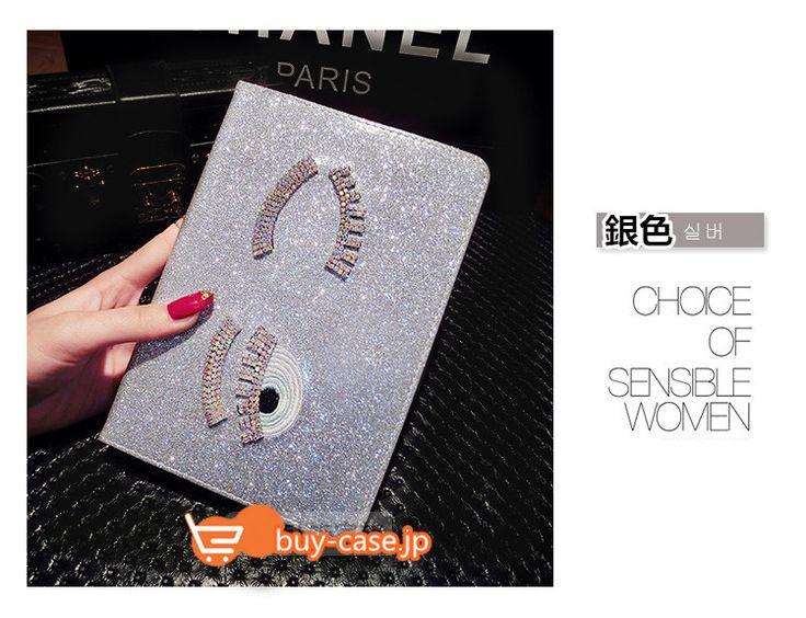 大きい目眼精アイパッドipad皮革ケースair23/4mini2手帳1 Chiara Ferragniタブレット ケース