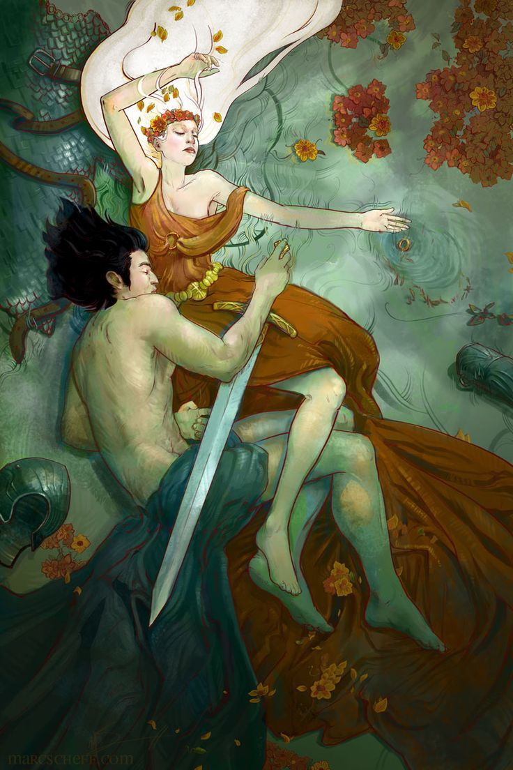 """""""The Calm and the Storm"""" by Marc Scheff (Tristan & Isolde)"""