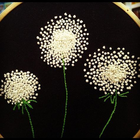 French knots by SUPPOSE - create - delight, via Flickr