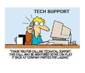 #Tech Support