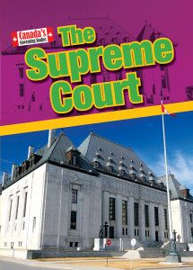 Canada's government -- The federal system -- The Supreme Court -- History of the Supreme Court -- Role of the Supreme Court -- How the Court system works -- The Supreme Court's home -- Key positions in the Supreme Court -- The Court is in session -- Important moments -- Significant Supreme Court judges -- Issues facing the Supreme Court -- Know your Supreme Court Gr.4-6