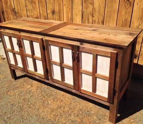 Over Sized Coffee Bar Buffet Bay Area Custom Furniture