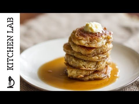 Pancakes | Άκης Πετρετζίκης #pancakes recipe and video in english  see http://akispetretzikis.com/en/categories/glyka/pancakes