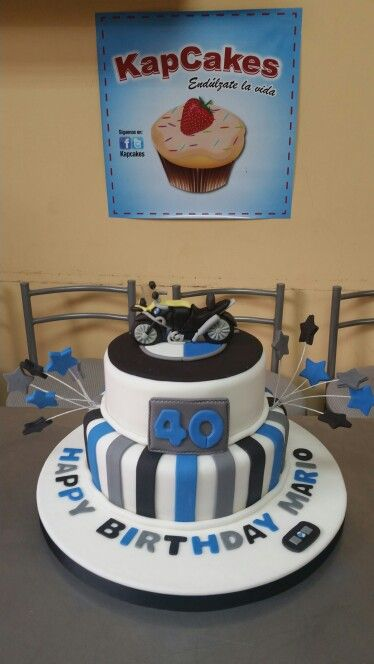 Birthday Motorcycle Cakes