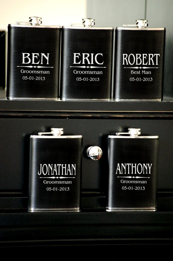 1000 Ideas About Groomsmen Flask On Pinterest Gifts For