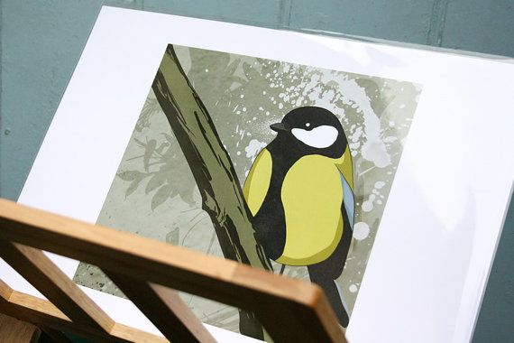 Great Tit on Etsy, £14.76