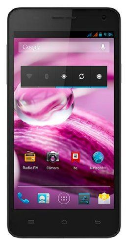 Por 269,90€!!!BQ Aquaris 5.7 - Smartphone libre Android (pantalla 5.7 Pulgadas, cámara 13 Mp, 16 GB, Quad-Core 1.5 GHz, 2 GB RAM), Negro y Blanco - Amazon...