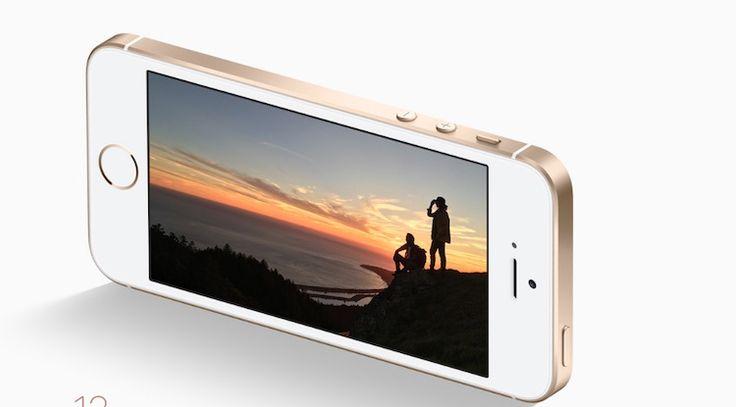 iphoneSE Apple lanza un iPad económico y un iPhone SE de 128GB