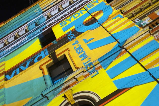 Vivid facade by Keith McInnes Photography, via Flickr