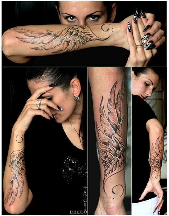 This is the wing ill get for one arm the other will have a damaged version of the same wing