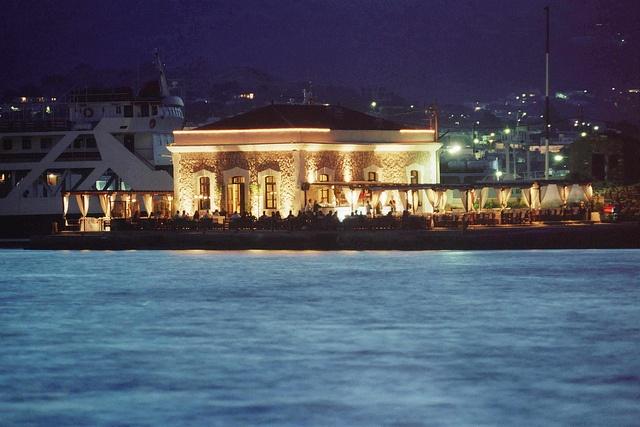 Chios port, Chios island, Greece