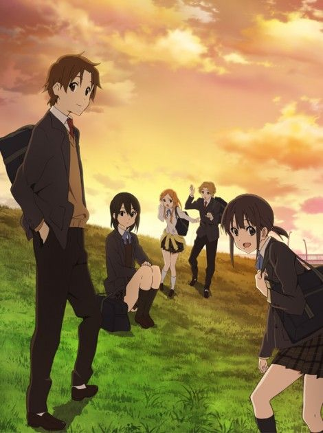 kokoro connect #anime #manga -comedy/drama/romance/school/supernatural
