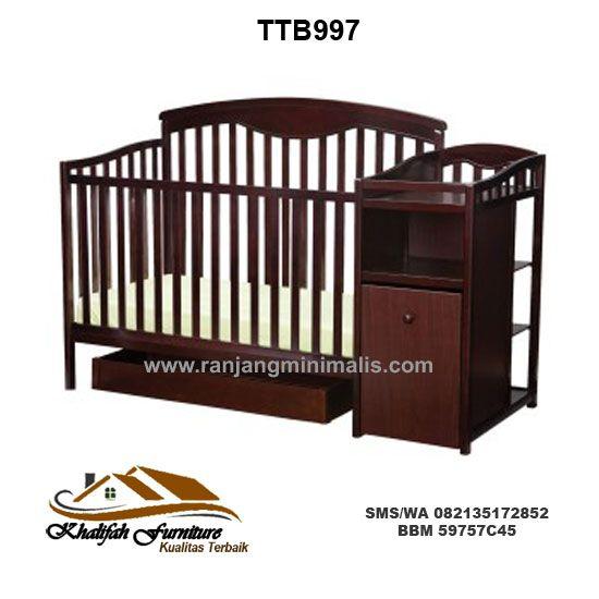 Tempat Tidur Bayi Murah TTB997