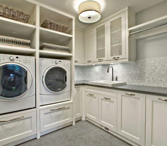 381 Best Laundry Rooms Images On Pinterest Bedroom Deco