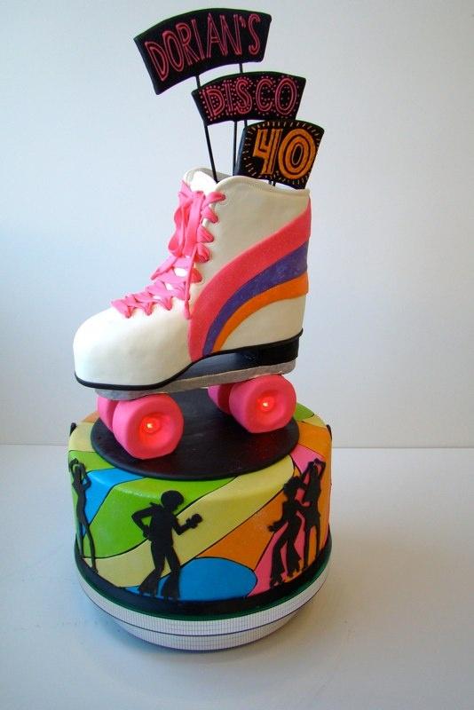 25 Best Roller Skate Cake Ideas On Pinterest Skate