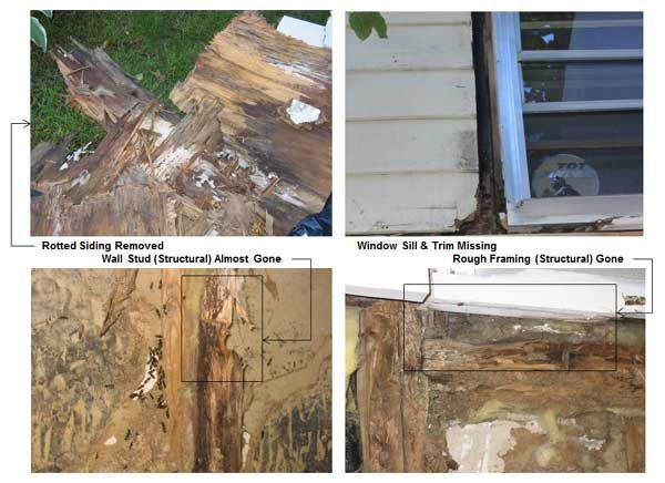 Estimating Home Repair Costs Is Challenging When You Can T See The Extent Of The Problem Repairing Rotted Windo Handyman Projects Home Repair Window Sill