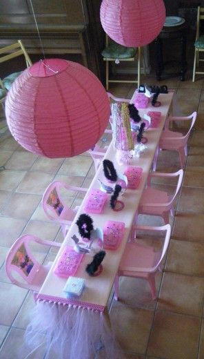 "Photo 8 of 21: Barbie Makeup / Birthday ""Barbie Makeup Party - 5th Bday"" 
