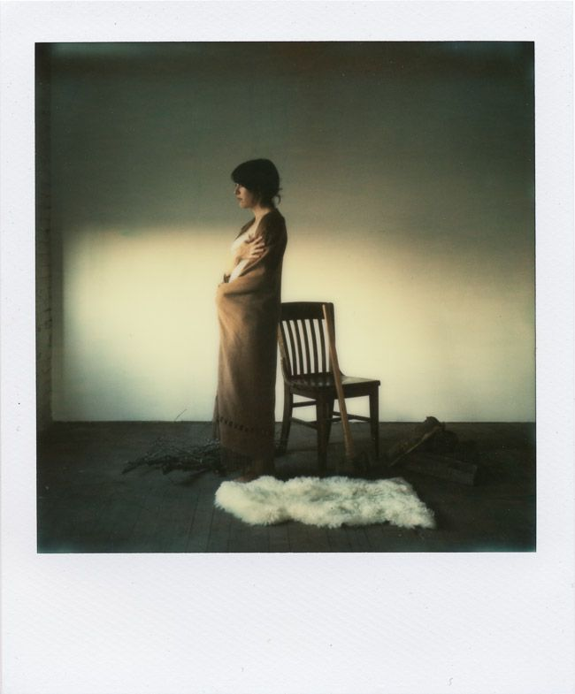 Julie E.  Shot on new Impossible Project PX70 Color Protection, by John Duenas