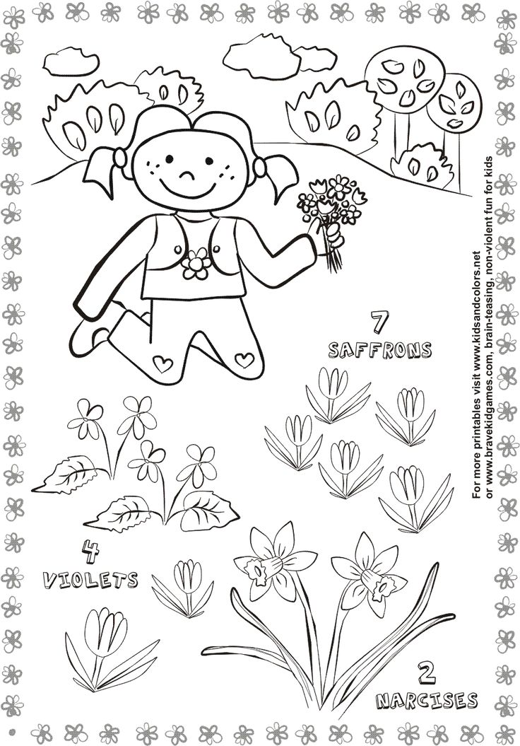 spring activity worksheets for kids - Activity Worksheets For Toddlers