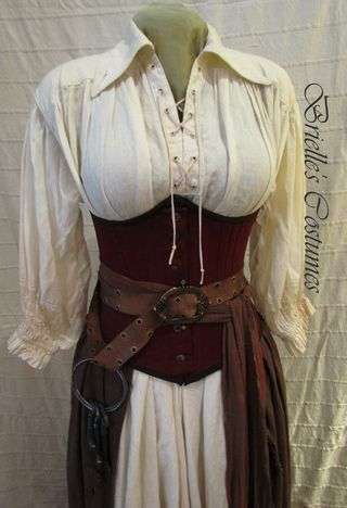 Lady Pirate 2  From: http://briellecostumes.typepad.com/brielles-costume-wardrobe/2011/03/brielles-pirate-costume.html