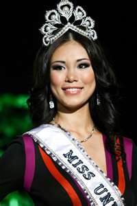 Riyo Mori, Miss Universe 2007 from Japan.