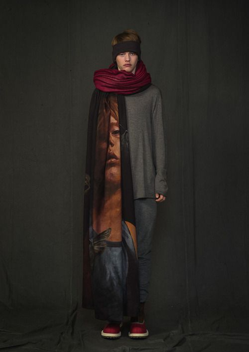 UNDERCOVER 2014 Fall/Winter Collection [scarf]