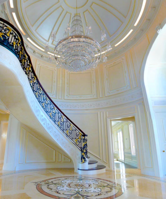 337 best home foyers images on pinterest luxury houses arquitetura and classic interior. Black Bedroom Furniture Sets. Home Design Ideas
