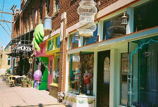 The Kansas City Crossroads Art District