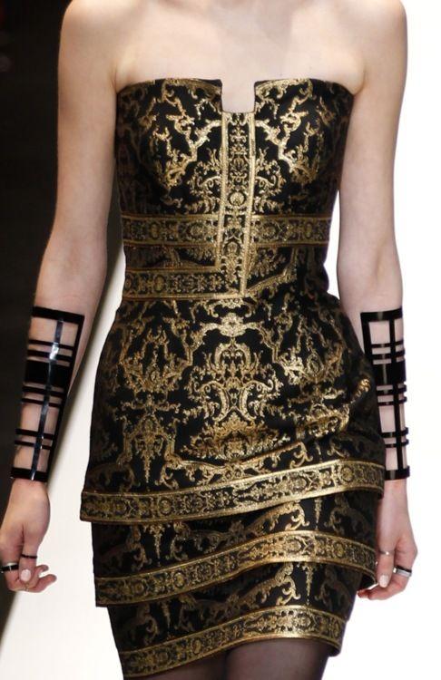 Leonard, Fall 2012: Summer Dresses, Blackgold, Woman Fashion, Cocktails Dresses, Dresses Up, Shorts Prom Dresses, Fall 2012, Gold Accent, Black Gold