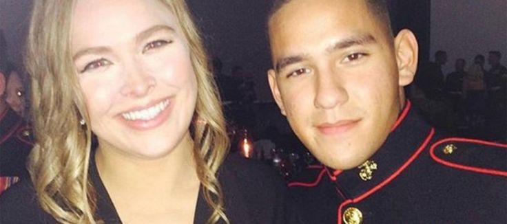 Ronda Rousey Keeps Her Promise and Attends Marine Corps Ball