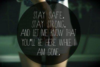 Stay safe Mayday parade lyrics, Mayday parade, Band quotes