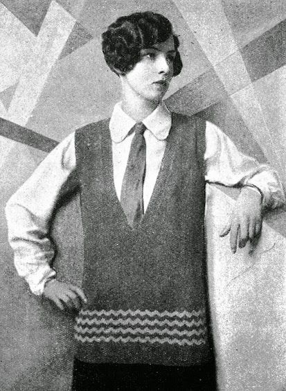 Just Call Me Ruby: Knitwear through the Ages - The 1920s - androgony