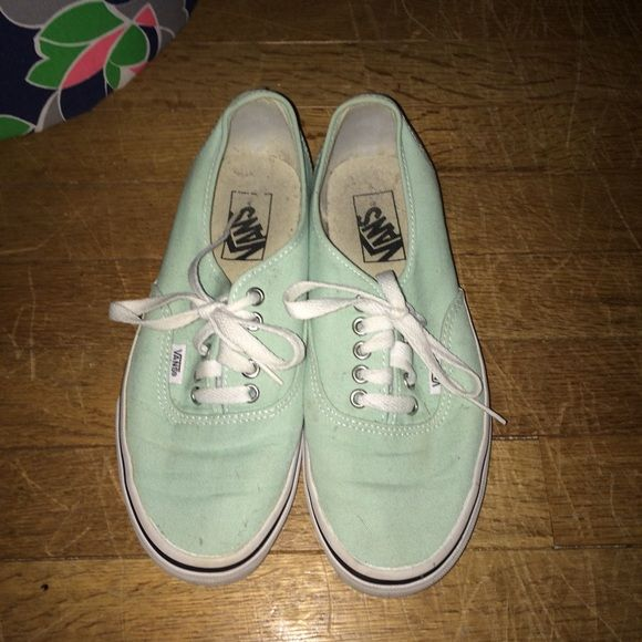 Mint vans Great condition, not too worn in. Feel free to make an offer :-) Vans Shoes