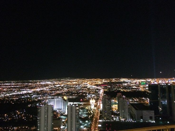 view from Stratosphere tower, Las Vegas, Nevada