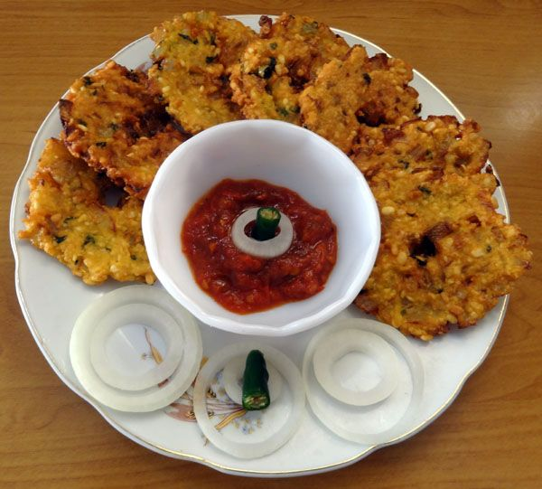 Crunchy South Indian snacks.