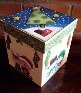 caixa decorada