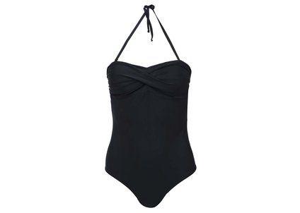 Černé jednodílné plavky Vero Moda Elisa