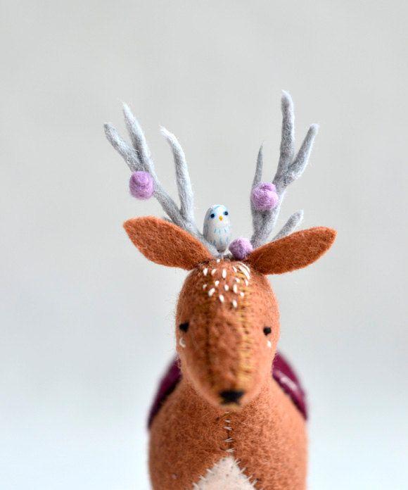 Felted Deer
