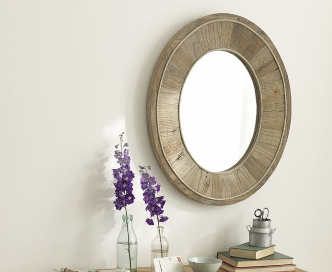 Our blooming lovely Ogle mirror is the type that will suit any wall. It is handmade from the most gorgeous reclaimed timber.