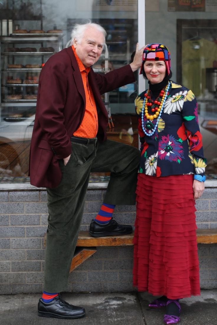 Richard and Carol, such style!: Fashion, Advanced Style, Aging Gracefully, Growing Older, Styles, Ageless, People, Senior Couples