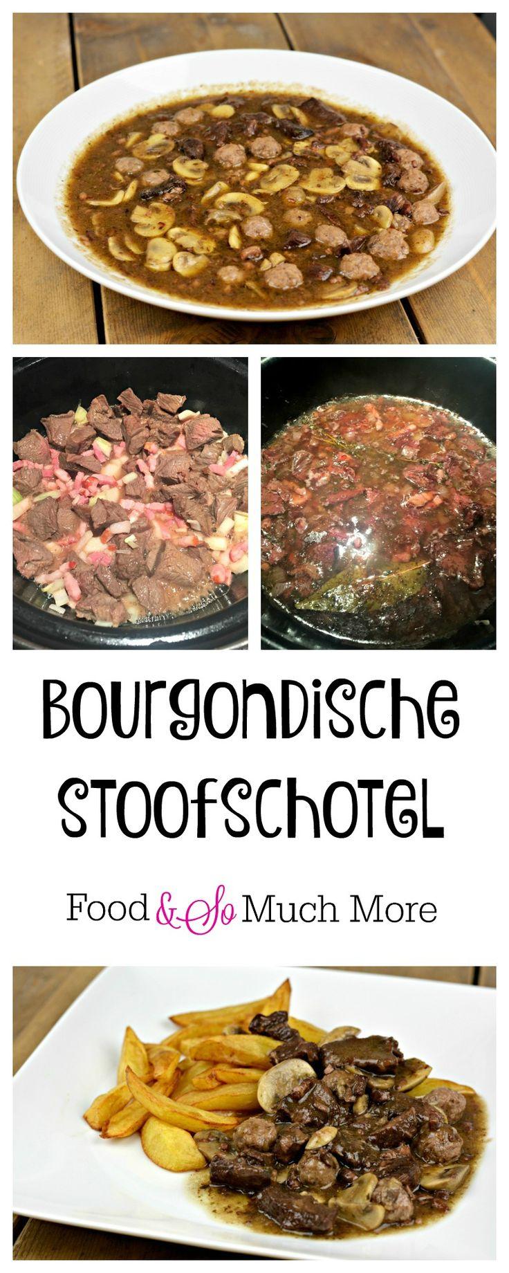 Een heerlijke Bourgondische stoofschotel, zonder pakjes en zakjes. Recept van foodensomuchmore.nl