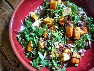 the preppy paleo: Paleo Roasted Root Vegetable & Arugula Salad