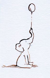 Will definitely be getting an elephant tatt in honour of my gran. I like this one as it will remind me to keep looking up