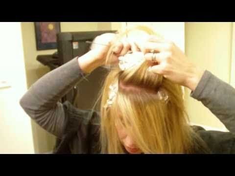 how to put streaks in your hair with foil