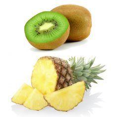 Ricetta per la preparazione di un Centrifugato Anti Cellulite con Ananas e Kiwi. Scopri anche tutti gli altri Centrifugati di Bellezza.